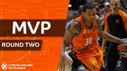 Round 2 MVP: Erick Green, Valencia Basket