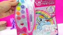 My Little Pony Paintfolio Watercolor MLP Water Color Paint Art Poster Book - Cookieswirlc Video