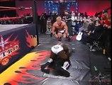(720pHD)- WCW Nitro 09-18-00 - Steiner-Jarrett(w-Midajah) vs. Sting-Booker T-Russo (feat Miss Jones)