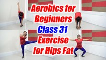 Aerobics Dance for beginners - Class 31 | Aerobics exercise for hips fat | Boldsky