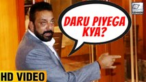 DRUNK Sanjay Dutt Offers Alcohol To Media Photographer At Diwali Party