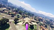 GTA 5 MODS - FLYING YACHT - MASSACRE MODE - FUNNY VEHICLES MOD (Grand Theft Auto Gameplay Video)
