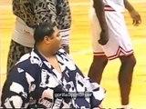 Michael Jordans team v Sumo Wrestlers - Old footage