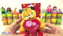 Garfield Surpriz Yumurta Oyun Hamuru Play Doh - Cicibiciler Emojiler Oyuncaklar