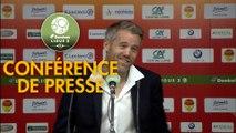Conférence de presse US Orléans - FC Lorient (1-2) : Didier OLLE-NICOLLE (USO) - Mickaël LANDREAU (FCL) - 2017/2018