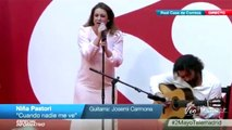 Niña Pastori sorprende a Alejandro Sanz cantandole- Cuando nadie me ve -VEOFLAMENCO