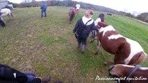 [Cours GoPro] Dressage♥ Quador se cabre et Utah fait sa débile^^