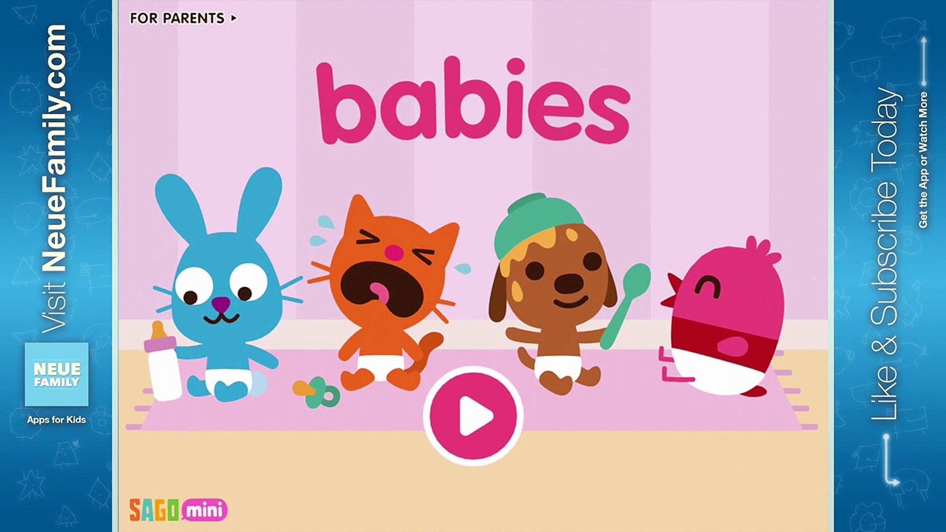 Sago Mini Babies: Kids Activity App