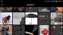 Picsart editing tutorial | Rainy day | best picsart photo manipulation tutorial |