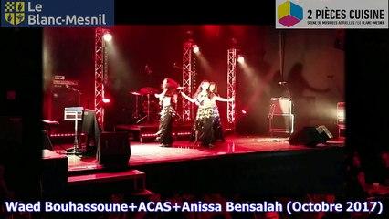 Waed Bouhassoune+ACAS+Anissa Bensalah Octobre 2017