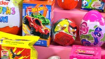 28 Киндер Сюрпризов, Мега Kinder Surprise, Миньоны,Angry Birds,Маша и Медведь,Барби,Hot Wheels