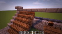 Minecraft Tutorial: How to build a Large Medieval Ship