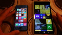 Nokia Lumia 1520 vs Apple iPhone 5S Browsing Experience Comparison