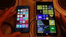 Nokia Lumia 1520 vs Apple iPhone 5S Browsing Experience Comparison