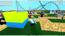 Roblox / Theme Park Tycoon 2 / Building My First Roller