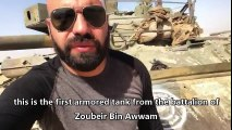 The SAA confiscates tons of weaponry from ISIS in Deir Ezzor