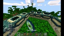 Minecraft PE - Top 5 SEEDS ! MANSION AT SPAWN, END CITY, VILLAGES & MORE! | MCPE 1.1