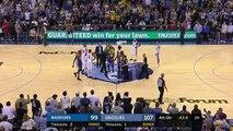 Stephen Curry et Kevin Durant éjectés
