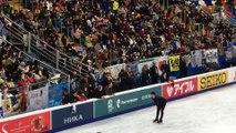 Yuzuru Hanyu 羽生結弦 Rostelecom 2017 21.10 entering the arena