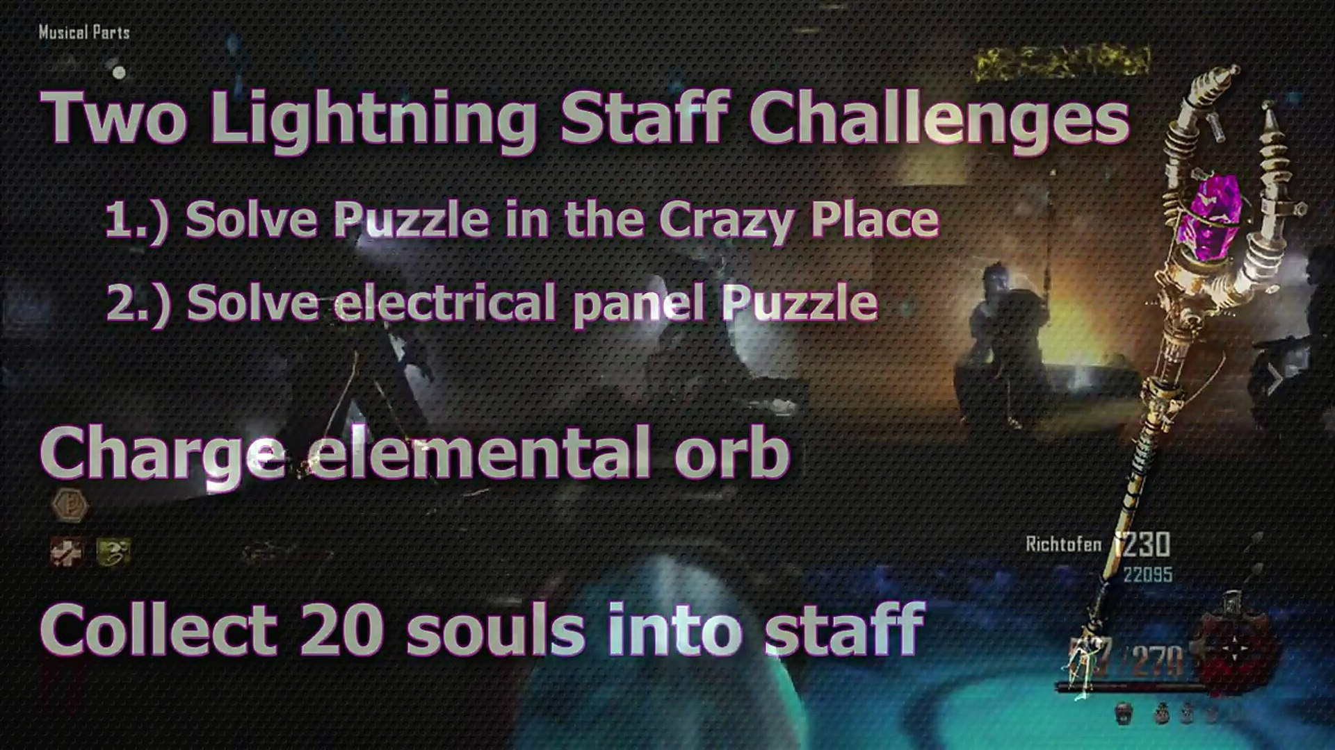 How To Upgrade The Lightning Staff Origins Updated Tutorial Black