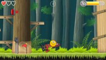 GOLDEN BALL Flawless Victory killing the BOSS in Red Ball 4 Chapter 2 Deep Forest