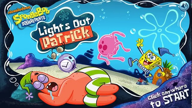SpongeBob SquarePants: Lights Out Patrick - Dont Wake Patrick (Nickelodeon Games)