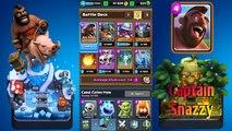 Clash royale- Best Arena 8(frozen peak) and Arena 9(jungle arena) hog rider deck!