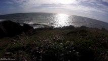 Visiter la Bretagne  , Ballade en bord de mer à Porsac'hdirection Doëlan à Clohars-Carnoëten Bretagne Finistère sud  .