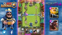 Clash Royale - Best Royal Giant Deck and Strategy with Hog Rider Combo for Arena 7 & Arena 8