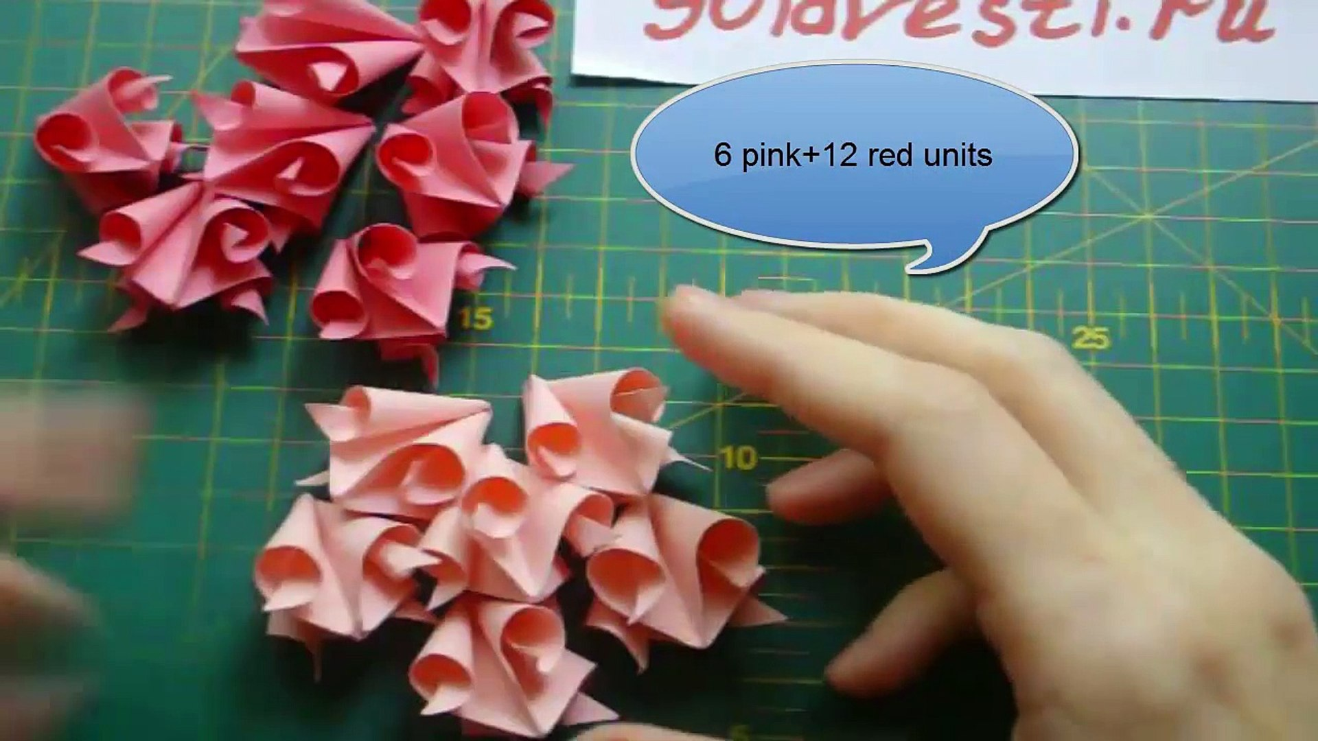 How to make small rose paper flower   Easy origami flowers for ...   1080x1920