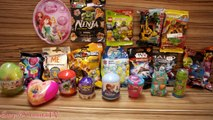 Sürpriz Yumurta Açma - 24 Sürpriz Yumurta İzle - Yeni Oyuncak ve Yumurtalar #SYTV Kinder Cicibici