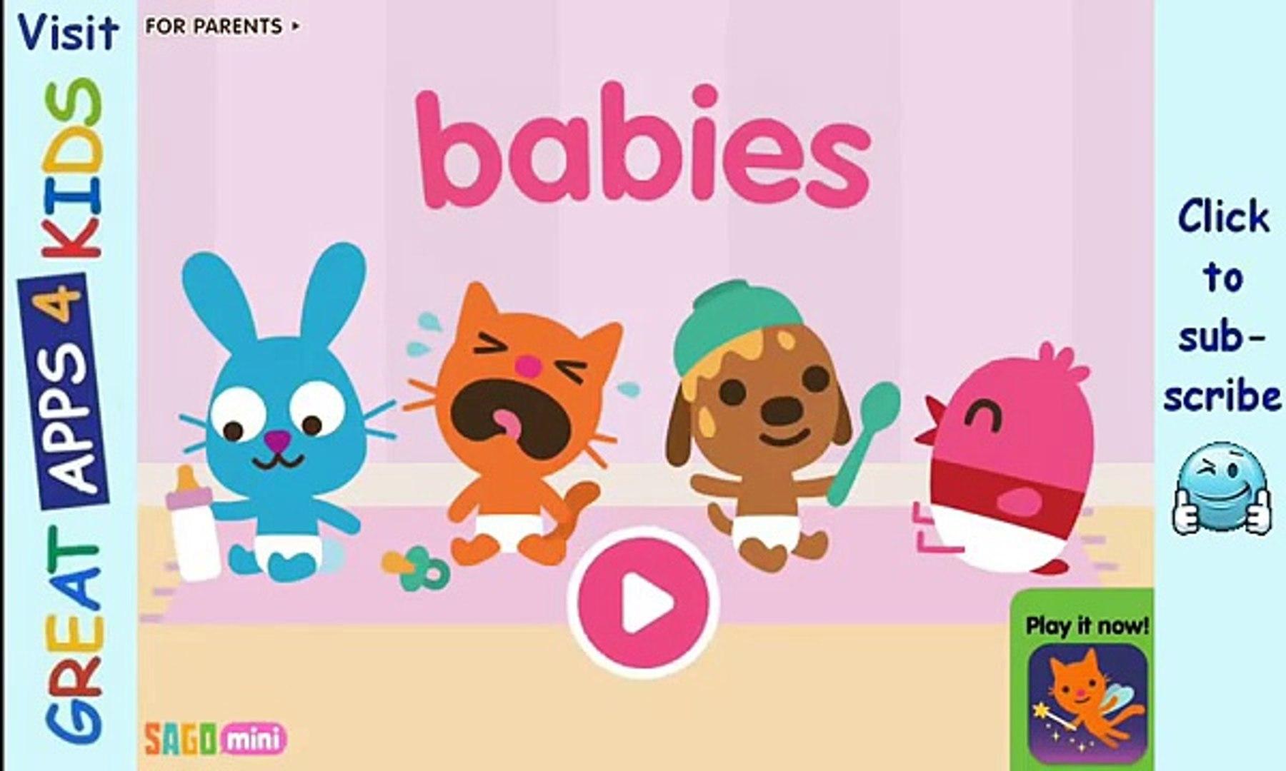 Sago Mini Babies   Activity App for Kids