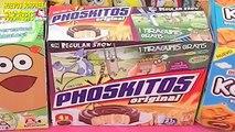3 cajas con sorpresa, phoskitos Pou, historias corrientes o un show mas y kekos