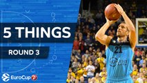 7DAYS EuroCup, Regular Season Round 3: 5 Things to Know