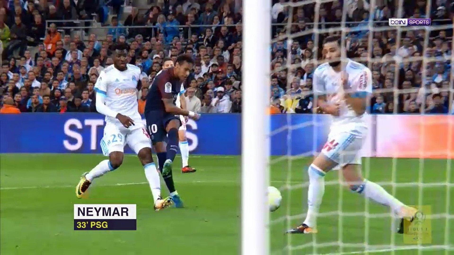 Cavani'den harika frikik! Marsilya - PSG (Maç Özeti)