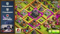 Clash of Clans TOP RUSHED BASES GET CRUSHED   FUNNY LOOT RAIDS