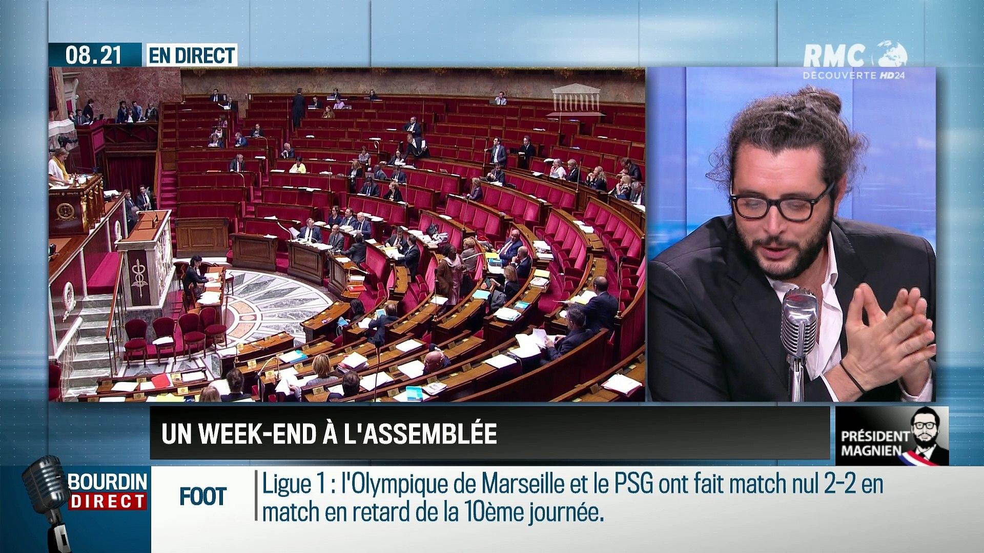 Président Magnien ! : Un long week-end à l'Assemblée - 23/10