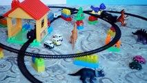 19 Parça Pilli Tren Seti - Oyuncak Tren Seti   Train Set For Kids - Oyuncaklar