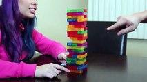 TETRIS JENGA - REMATCH!- Husband vs Wife