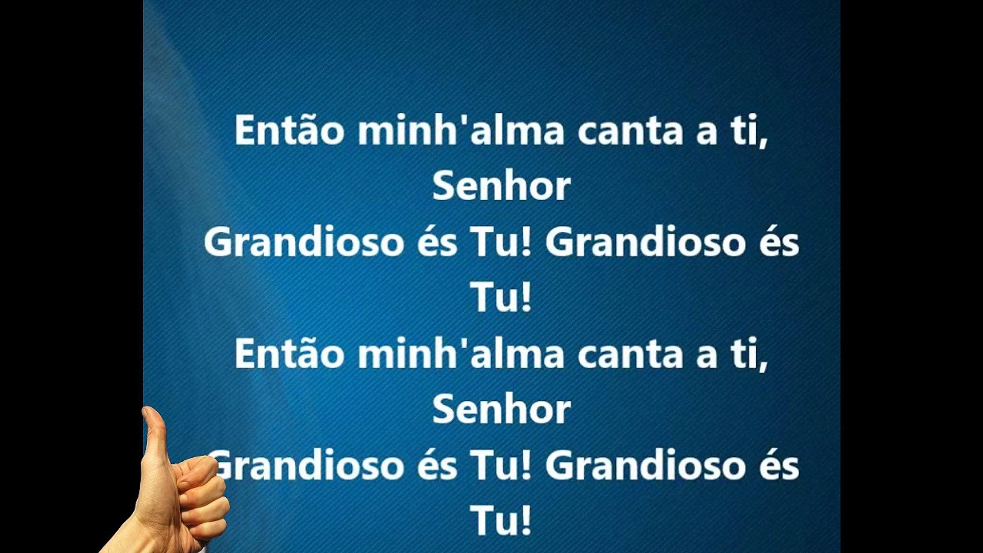 Hino Arpa 526 Grandioso és TU -Lauriete ,gospel,mais tocada igrejas,
