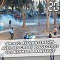 OM-PSG: Affrontements avec les CRS et projectiles sur Neymar...