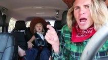 Ce que fait une fille avec son beau-père dans la voiture, super marrant et incroyable performance !