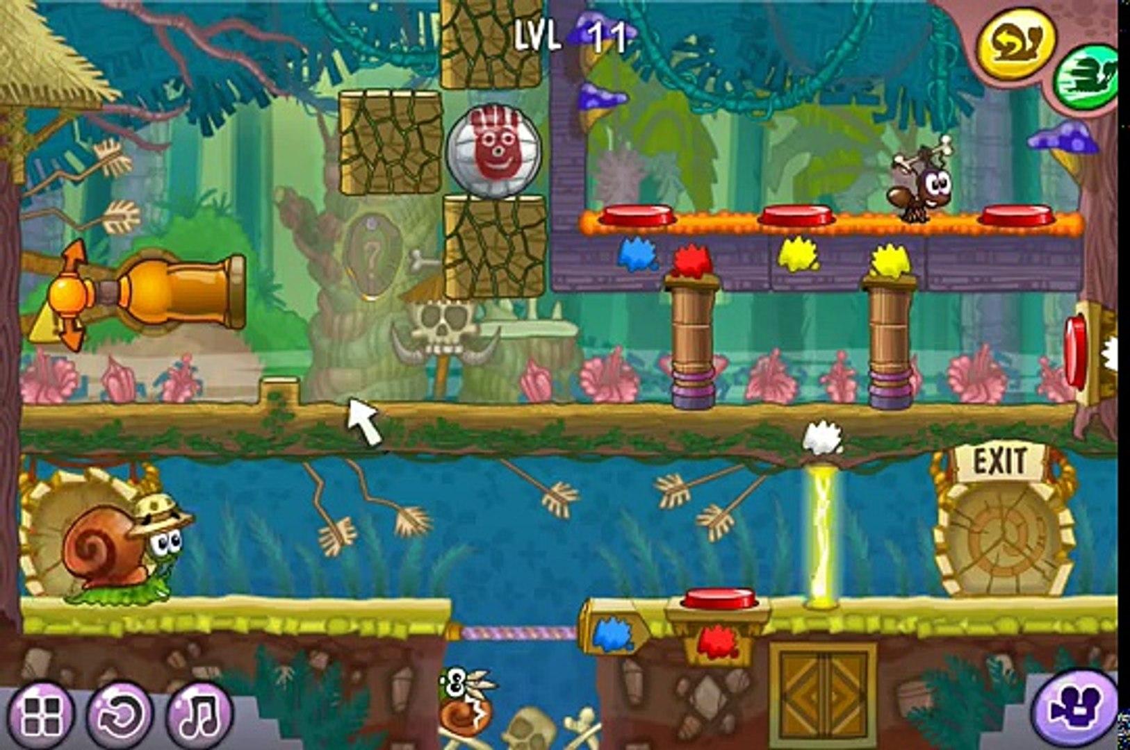 Flash игра Улитка Боб 8 Островная история 2 серия Игра Snail Bob 8 Island Story