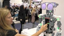 Meccanoid G15 KS - 4 Foot Tall Robot, First Look at CESnew from Meccano