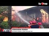 Kebakaran Besar Hanguskan Puluhan Rumah di Samarinda