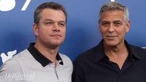 George Clooney and Matt Damon Discuss Sexual Harassment, Harvey Weinstein | THR News