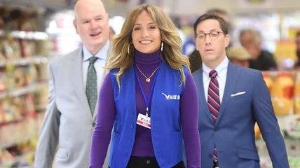 Jennifer Lopez Films 'Second Act'