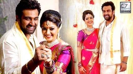 Kannada actors Meghna Raj and Chiranjeevi Sarja GOT ENGAGED Finally!