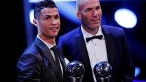 Cristiano Ronaldo eleito melhor jogador do mundo pela FIFA. Zidane é o melhor treinador e Buffon o melhor guarda-redes