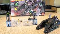 Nathan Fasts Lego Reviews: Lego Batman Bat Tank Riddler and Banes Hideout 7787